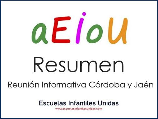 La ronda informativa continuó con los socios de Córdoba y Jaén
