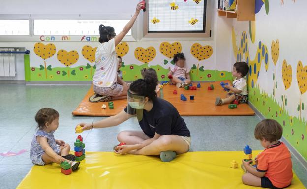 Las escuelas infantiles garantizan la seguridad de sus centros para afrontar el proximo curso